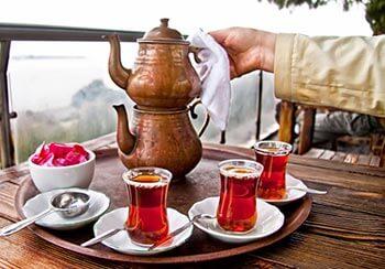 Muito Chá na Turquia