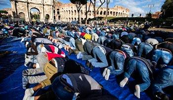 horas reservadas para oração coletiva
